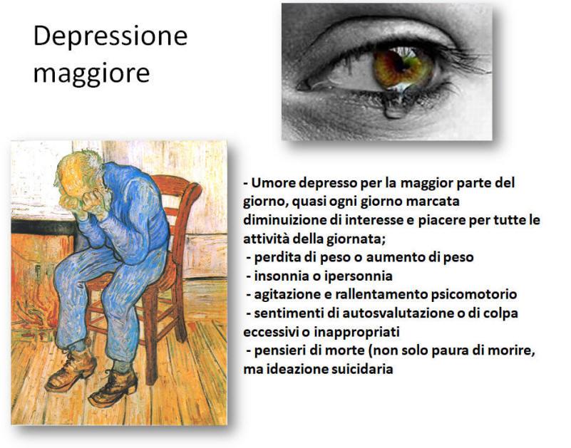 depressione maggiore ricorrente terapia