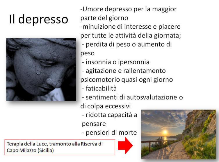 la perdita di peso provoca depressione